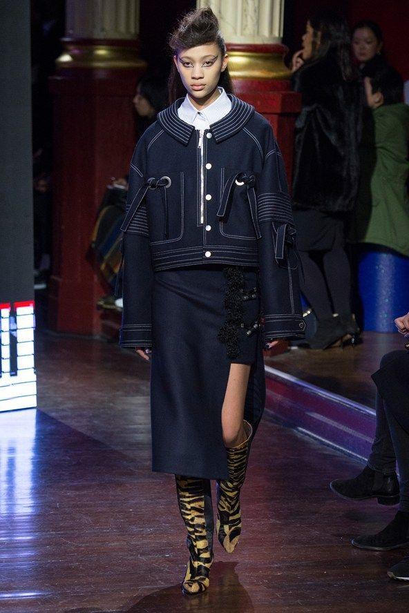 Kenzo Fall 2016 Paris Fashion Week.