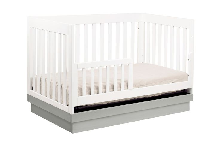 Buy The babyletto Acrylic Harlow 3-in-1 Convertible Crib for 25% OFF #baby #crib #convertible #sale #markdown