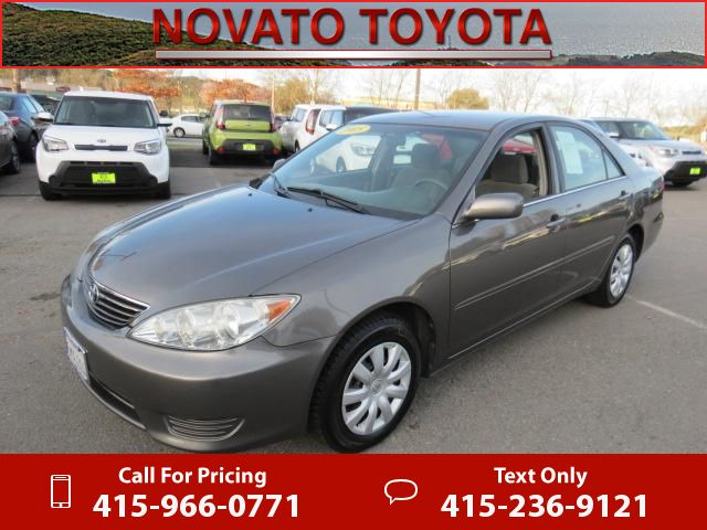 2005 Toyota Camry LE 132k miles Call for Price 132805 miles 415-966-0771 Transmission: Automatic #Toyota #Camry #used #cars #NovatoToyota #Novato #CA #tapcars