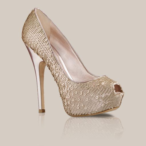 Louis Vuitton SANAGA PUMP IN SEQUIN EMBROIDERED FABRIC