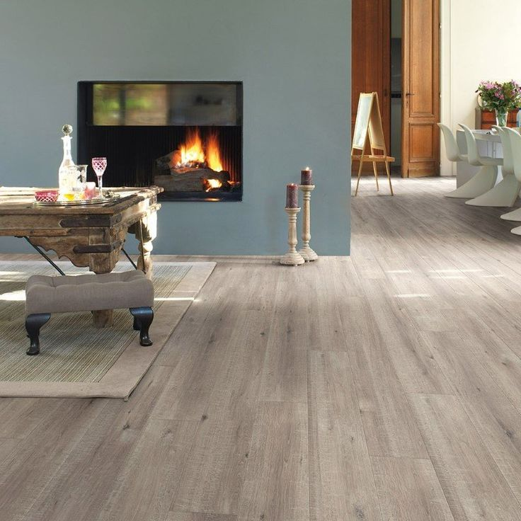 Quickstep 8mm Saw Cut Oak Grey Laminate Flooring