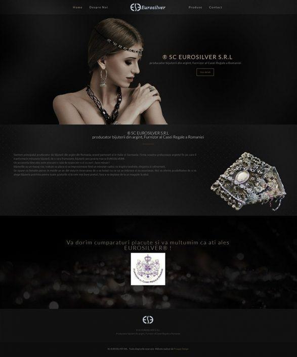 Prosperdesign Creare Site Bijuterii din argint by ProsperDesignWeb.deviantart.com on @DeviantArt