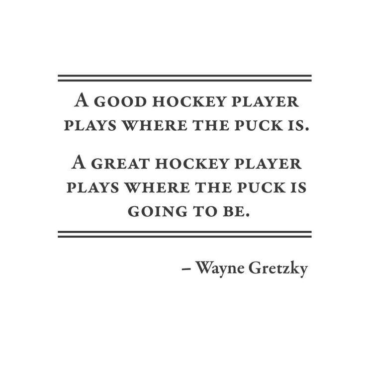 wall quotes wall decals - Wayne Gretzky Hockey