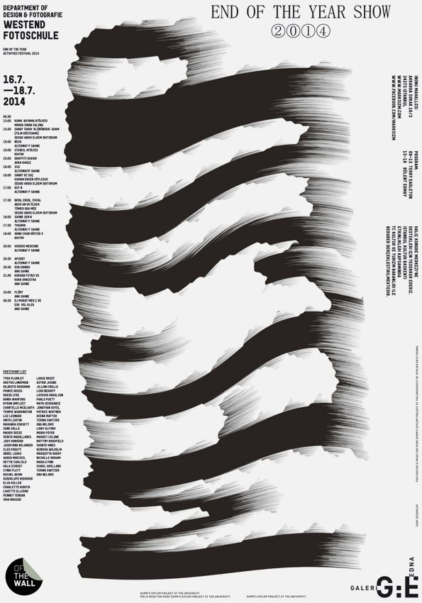 adamvellaa:  Source: It's Nice That : Some excellent poster work from Istanbul-based Studio Sarp Sozdinler - http://ift.tt/1A4DJTN