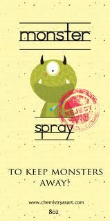 monster spray...