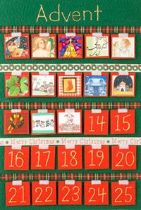 Make your own Advent Calendar using felt, ribbon and old Christmas cards! Then use it to teach your kids about calendars, counting down and celebrating the Christmas season!