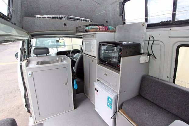 toyota hiace high roof camper 5778 for sale 5 - Caravans for sale – Used and new caravans