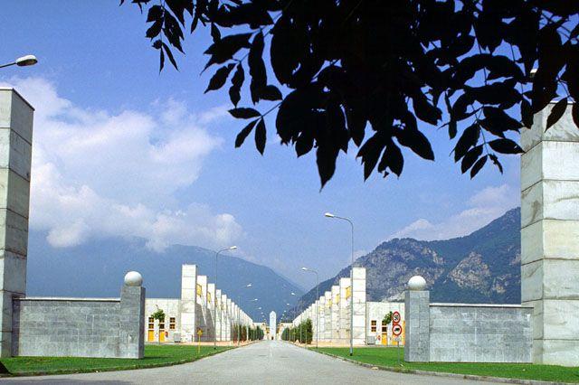 Aldo Rossi | Tecnoparco del Lago Maggiore | Verbania, Italia | 1993-1997