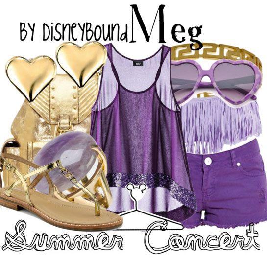 Disney Bound Meg Summer Look