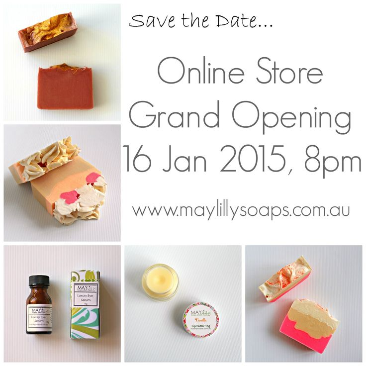 maylilly soaps online store opening