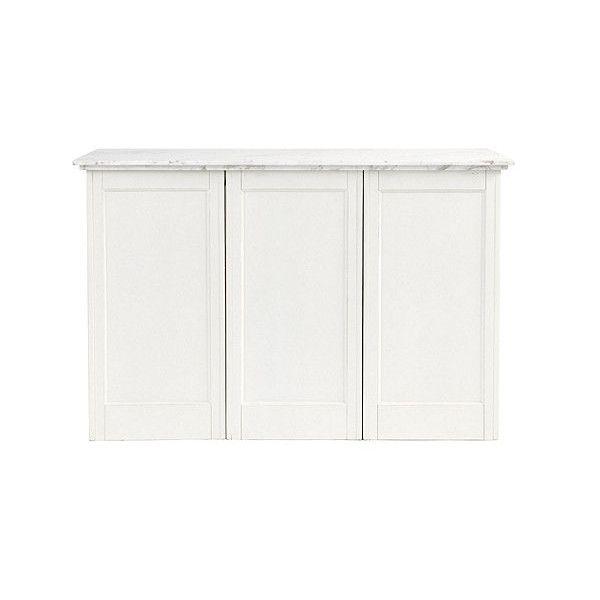 ballard designs paulette kitchen 3 cabinet island 2 510 cad liked on polyvore featuring home. Black Bedroom Furniture Sets. Home Design Ideas
