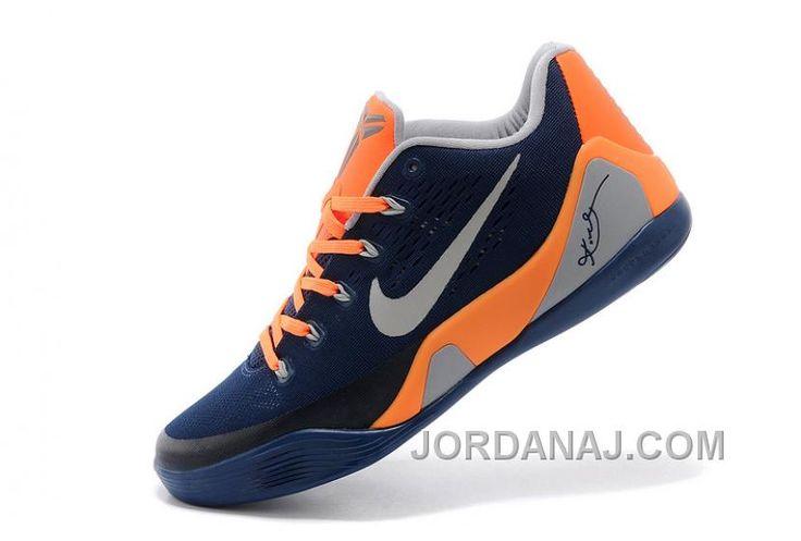 http://www.jordanaj.com/online-sale-nike-kobe-9-low-em-dark-blue-orangegrey-for-mens-cheap-to-buy.html SALE NIKE KOBE 9 LOW EM DARK BLUE/ORANGE-GREY FOR MENS ONLINE Only $90.00 , Free Shipping!
