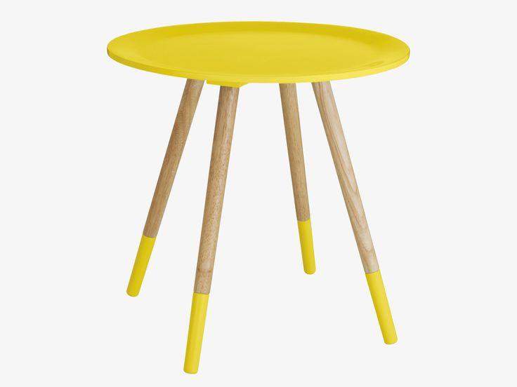 BLOSSOM YELLOWS Lacquered Yellow side table - HabitatUK