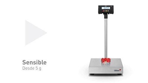 Oferta: 190.00€. Comprar Ofertas de Balanza industrial Gram Precision modelo ZMissil F1-30 (30Kg/5g) dimensiones del plato 400x300mm modelo 2017 barato. ¡Mira las ofertas!