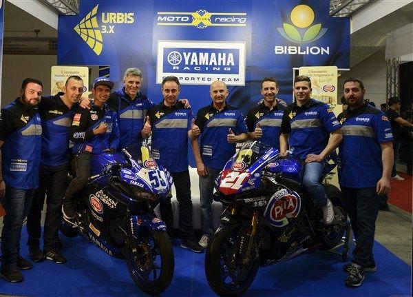 Yamaha telah melaunching Tim MotoX Racing 2018 Di Italia