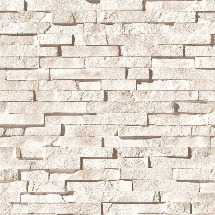 Muriva J27307 3D brick effect sandstone wallpaper ...