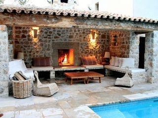 Moulin Niras, Callas, Provence Alpes Cote d'Azur, France #openfire #patio #holid…