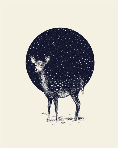 """""""Snow Flake""""illustration by Daniel Teixeira"""