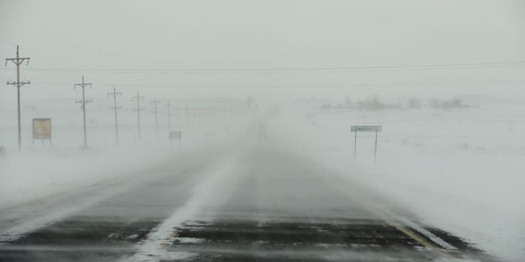Blizzard Warnings As Winter Storm Forecast Over Central U.S.