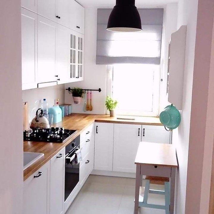 Solusi Dapur Ruang Terbatas Wujudkan Kitchenset Furniture Impianmu Bersama Kami Untuk House Design Kitchen Interior Design Kitchen Ikea Kitchen Design