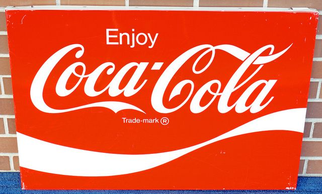 Coca Cola Original Vintage Metal Sign 3' x 2' AM63  RD9603  Go back to Tin Can Alley - FOR SALE: http://www.bagtheweb.com/b/PBdAfQ