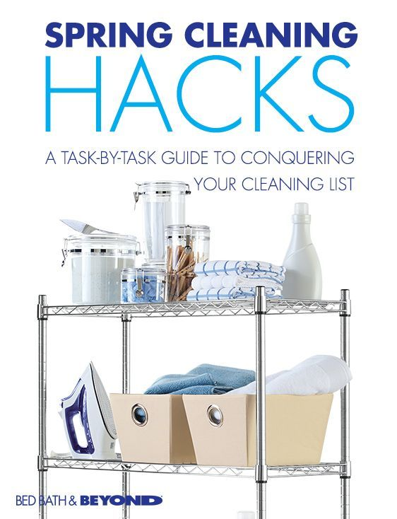 SPRING CLEANING HACKS  A task-by-task guide to conquering your cleaning list.    Spring cleaning might seem like a daunting chore, but when you break it down by specific tasks, it's really not so bad. Crank up your favorite tunes and follow this guide and you'll be crossing spring cleaning off your to-do list before you know it.