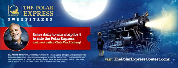 The Polar Express Train Ride one of the top 10 places to visit before your children turn 10. Good age 4-9