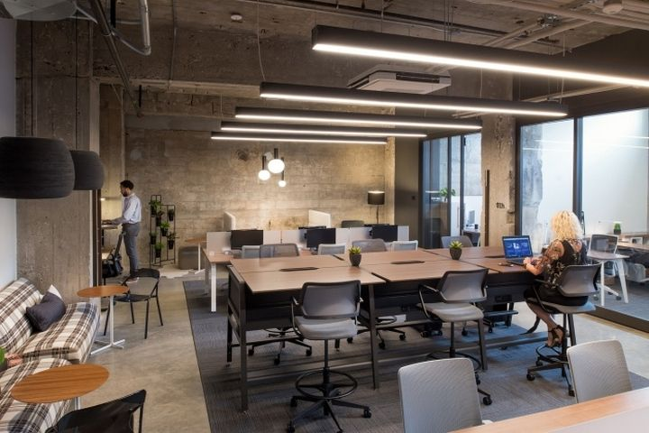 540 best offices industrial reclaimed images on for Office design kansas city