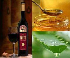 Лечение алое с медом и кагором
