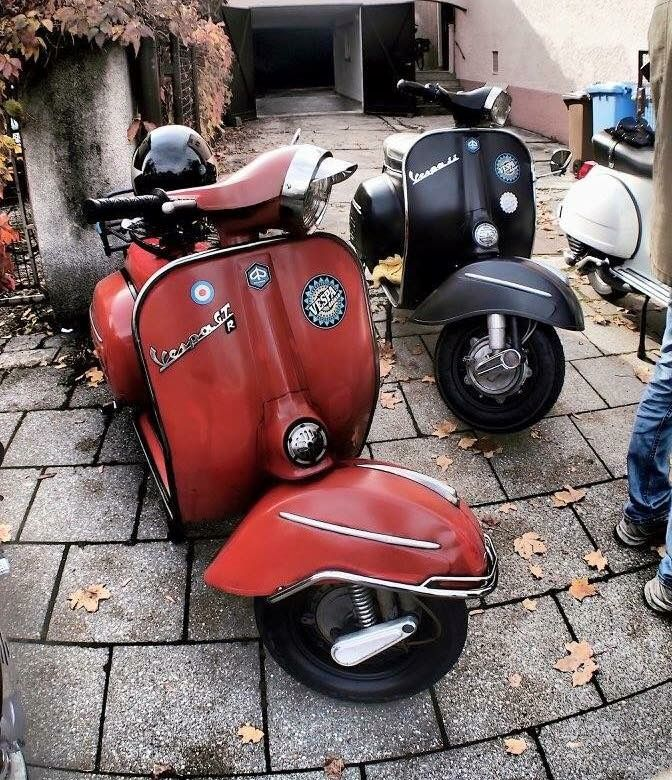 3657 best roller scooter vespa ape piaggio images on pinterest vespa scooters scooters. Black Bedroom Furniture Sets. Home Design Ideas