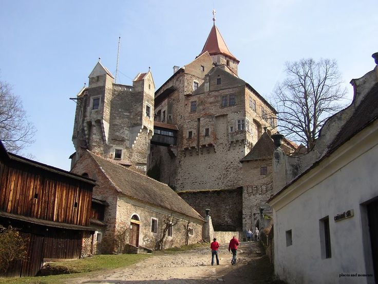 Pernstejn Castle,Pernstejn, Vysočina,Czech Republic.