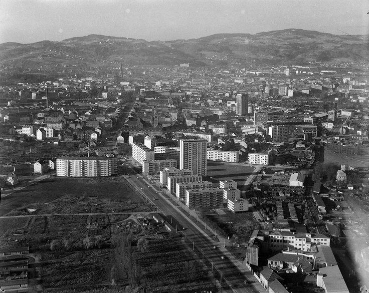 Ein Verkehrsknoten mit einer dunklen Vergangenheit - Der Bulgariplatz war einer der Haupt-Schauplätze im Linzer Stadtgebiet während des Bürgerkrieges im Jahr 1934. Heute dominieren Hochhäuser, in denen unter anderem das AMS und das bfi untergebracht sind. Mehr dazu hier: http://www.nachrichten.at/oberoesterreich/linz/Ein-Verkehrsknoten-mit-einer-dunklen-Vergangenheit;art66,1497297 (Bild: Archiv der Stadt Linz)