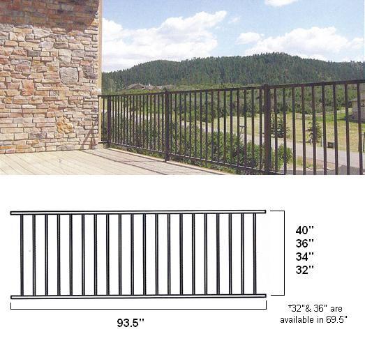 Best 25+ Metal deck railing ideas on Pinterest