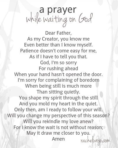 We think of the wait as nonessential. Yet God is doing essential work during the wait- especially in our hearts. #waitingonGod