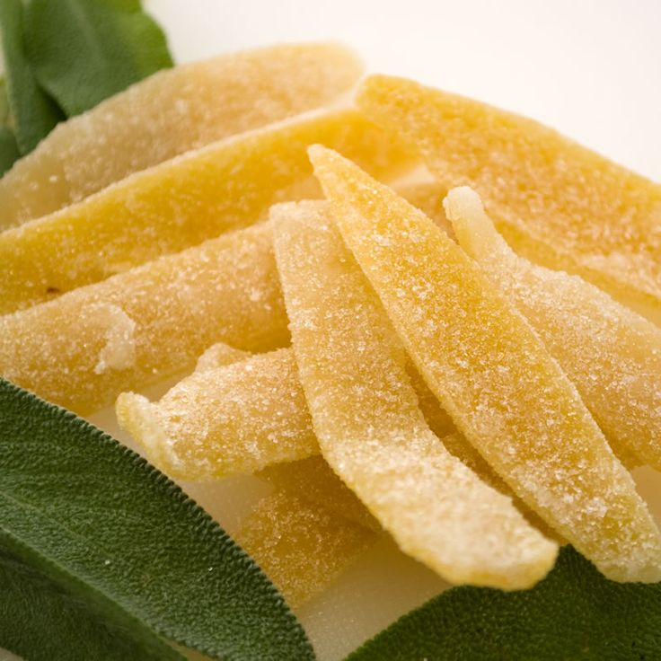 Candied Lemon Peel and Fresh Sage  I made this today too but minus the sage. Still a work in progress as the lemon is still drying out. Tastes damn good on its own.