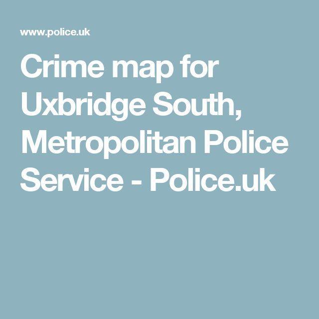 Crime map for Uxbridge South, Metropolitan Police Service - Police.uk