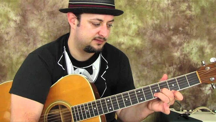 how to play walk this way on acoustic guitar