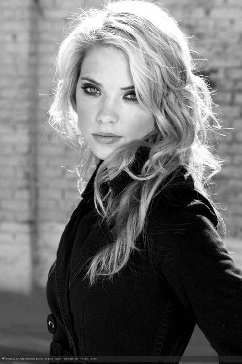 Ashley Benson - Ashley Victoria Benson (born December 18, 1989)[1] is an American actress and model, known for her role as Hanna Marin on the mystery-thriller television series Pretty Little Liars. She has also portrayed Abigail Deveraux on the NBC soap opera Days of our Lives, Mia Torcoletti on the supernatural television series Eastwick, and Brit in the 2012 crime thriller film Spring Breakers.