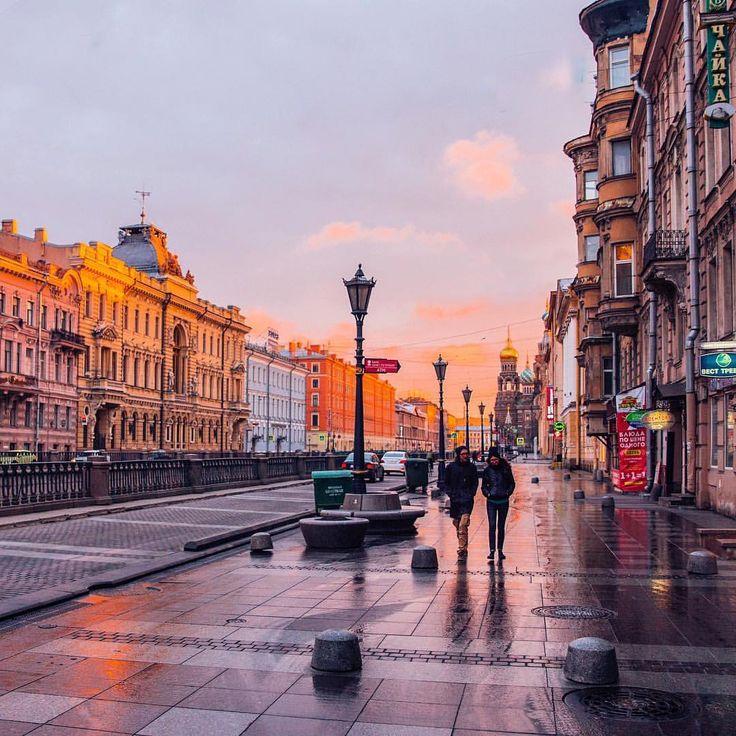 Фотографии улиц санкт петербурга