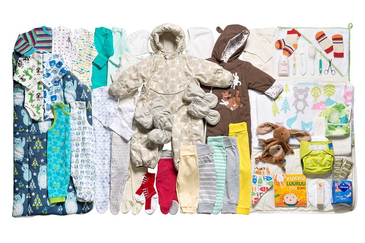 Finland has a maternity package as part of their maternity benefit that's like a starter kit for a new baby.