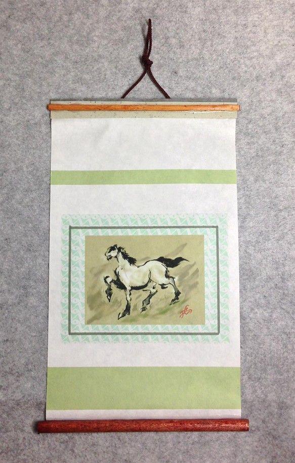 「川原毛」-かわらげ-     19X30.5cm 「川原毛」とは、薄めの体色、たてがみ・尾 および四肢の下部分が黒い、馬の体色を指す。 もっとも平均的な馬の...|ハンドメイド、手作り、手仕事品の通販・販売・購入ならCreema。