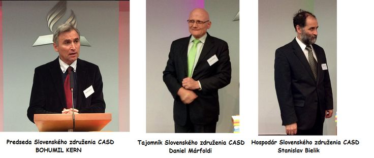 Novozvolené vedenie Slovenského združenia CASD