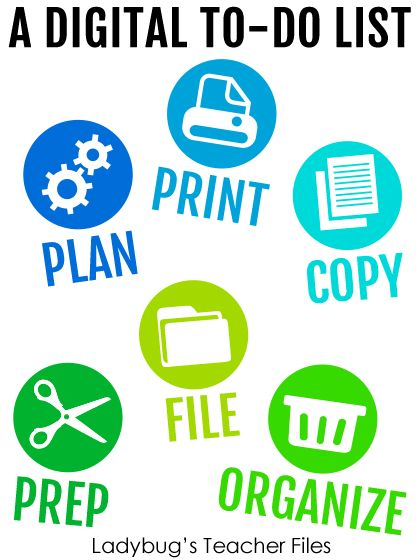 A Digital To-Do List | Ladybug's Teacher Files | Bloglovin'