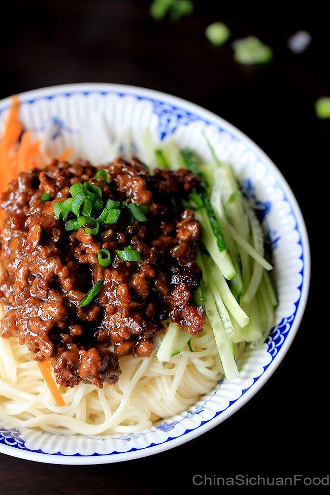 Zha Jiang Mian—Minced Pork Noodles