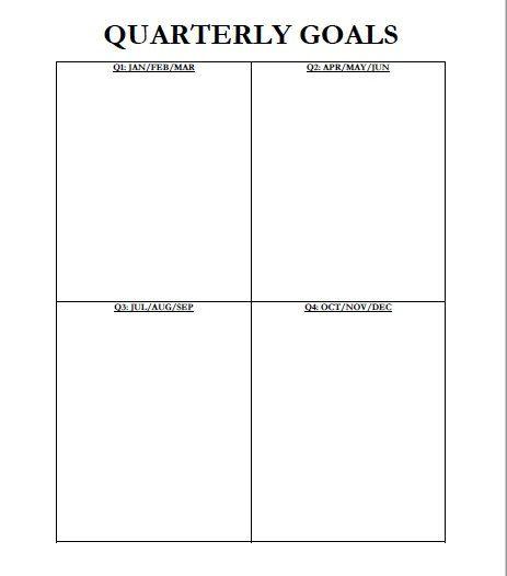 The  Best Goals Template Ideas On   Short Term Goals