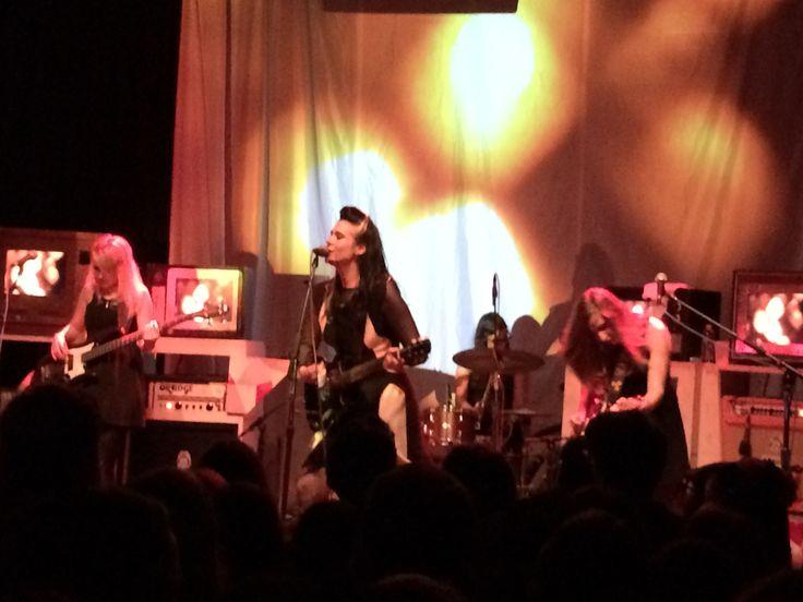 Kate Nash rocking in December at SDU La Joya, CA.