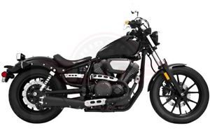 a freedom performance exhaust black 45 american outlaw so yamaha bolt my00148