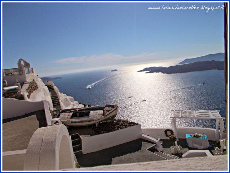 Vista sulla caldera - Fira, Santorini, Grecia
