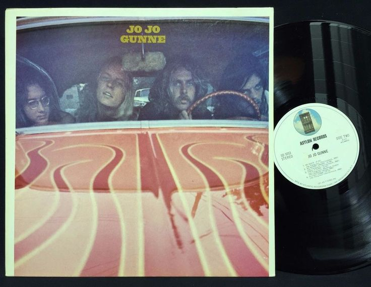 Jo Jo Gunne - Self Titled Album Asylum Records SD 5053 LP #Vinyl Record