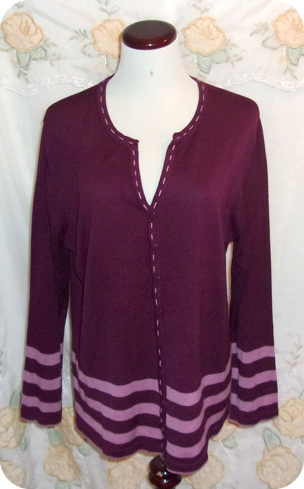 Details About White Stag Womens Top Plus 14 16w Burgundy